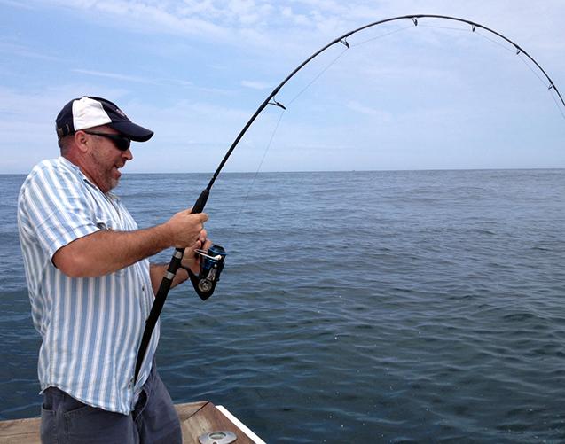Big game fishing ri for Shark fishing gear